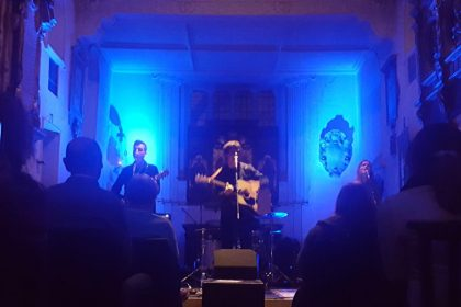 Tom Speight at St Pancras Old Church by Rachel Bambrough