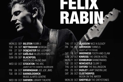 Felix Rabin – French Guitar Wonder returns to the UK this Autumn