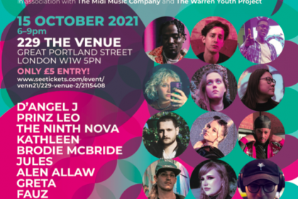 CAN YOU CIC IT? launches venn21 bringing young people together through music – supported by Youth Music
